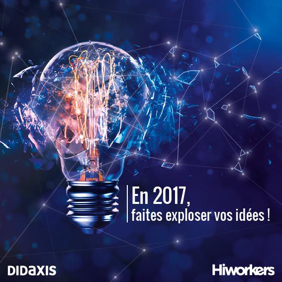 Voeux 2017 Guillaume Cairou président de Didaxis