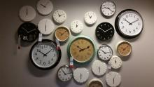 horloges représentant l'efficacité